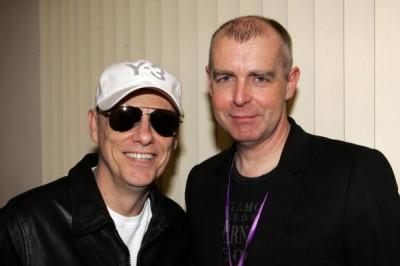 Pet Shop Boys Neil Tennant & Chris Lowe.  Photo: Gettyimages.com