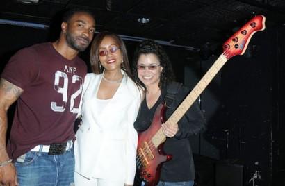Dr.Funkenberry.com Exclusive: Rhonda Smith & April Sutton & Friend.  Photo: Seren Dipity