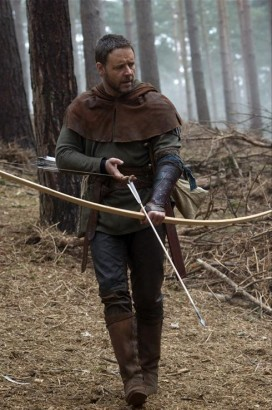 Russell Crowe As Robin Hood.  Photo: Scope