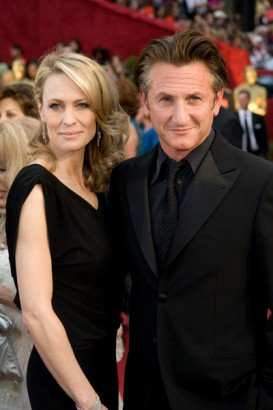 Sean Penn and Robin Wright-Penn File Photo