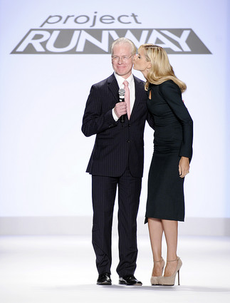 Tim Gunn & Heidi Klum Project Runway Promotional Photo