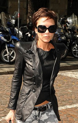 Victoria Beckham In Italy.  Photo:  INFdaily.com