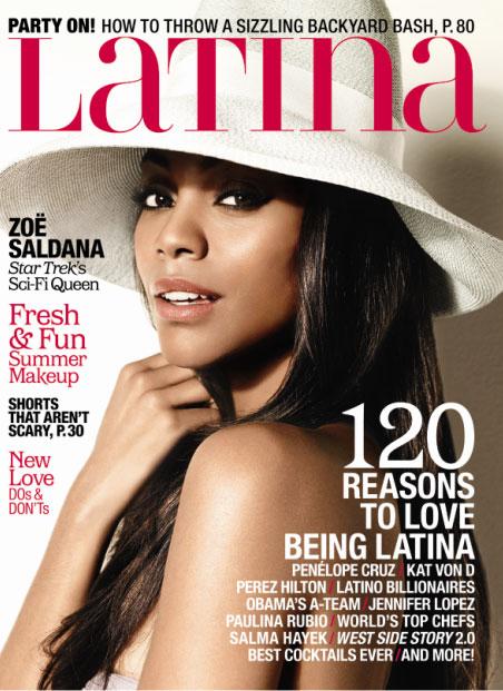 Saldana Latina Magazine