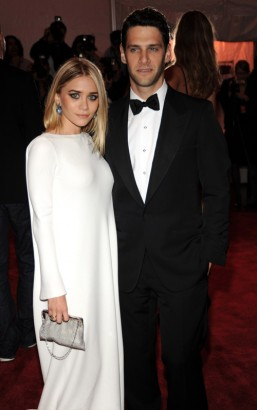 Ashley Olsen and Date At The Costume Institute Gala.  Photo: Wireimage.com
