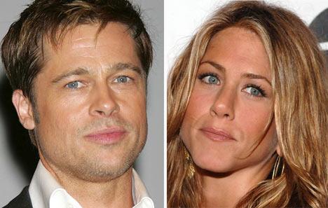Brad Pitt & Jennifer Aniston.  Photo: Babble.com
