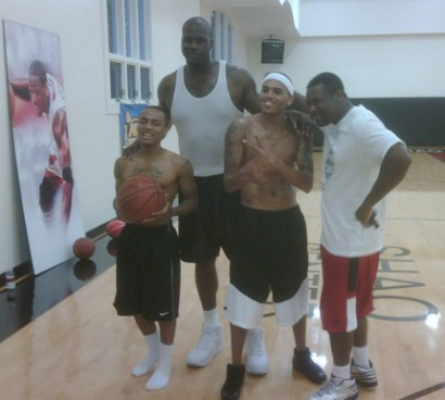Bow Wow Chris Brown and Crew Twitter Pic