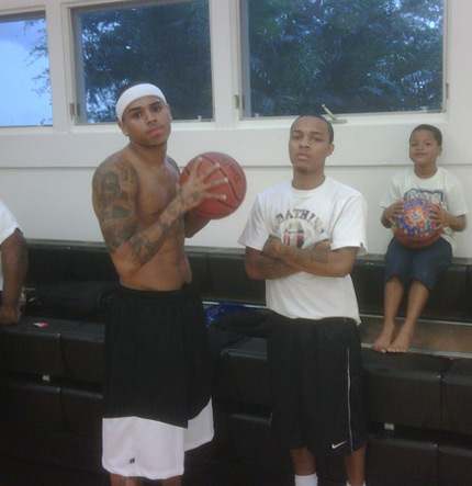 Bow Wow Chris Brown Twiiter Pic