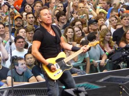 Drfunkenberry.com Exclusive! Bruce Springsteen Live.  Photo: G. Dicker