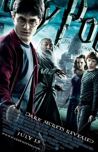 Harry Potter & The Half-Blood Prince New Poster.  Photo: Warner Bros. Pictures