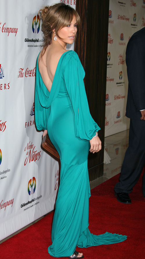 Jennifer Lopez @ Noche De Ninos Gala.  Photo: Splashnewsonline.com