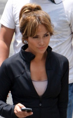 Jennifer Lopez Filming New Movie.  Photo: INFdaily.com