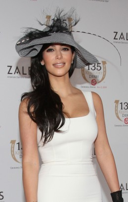 Kim Kardashian At The Derby.  Photo: Gettyimages.com