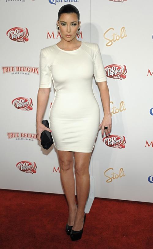 Kim Kardashian Attends Maxim Hot 100 Party.  Photo: Wireimage.com