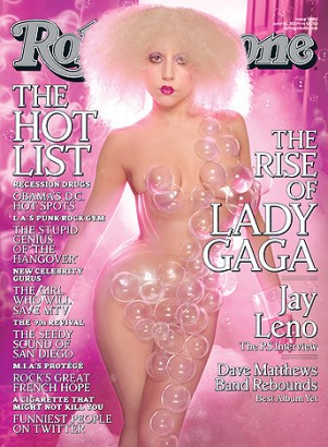 Lady GaGa Rolling Stone Magazine Cover