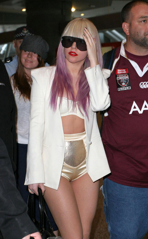 lady gaga hot wallpaper. wallpaper G#39;Day Lady Gaga