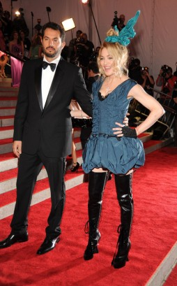 Guy Oseary and Madonna At The Met.  Photo: Wireimage.com