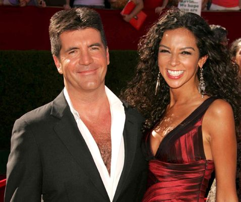 Simon Cowell & Ex-Girlfriend Terri Seymour.  File Photo