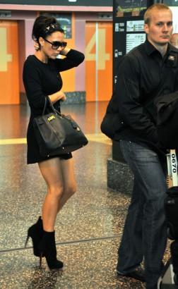 Victoria Beckham In Milan.  Photo: Bauer-Griffen.com