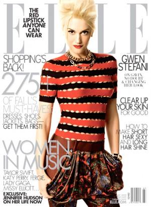 Gwen Stefani ELLE Magazine July 2009