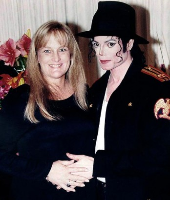 Debbie Rowe & Michael Jackson Circa 1996.  Photo: Dailymail.co.uk