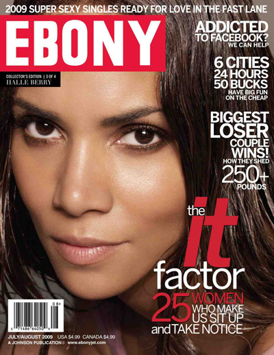 Halle Berry On Ebony Cover.  Photo: Ebonyjet.com