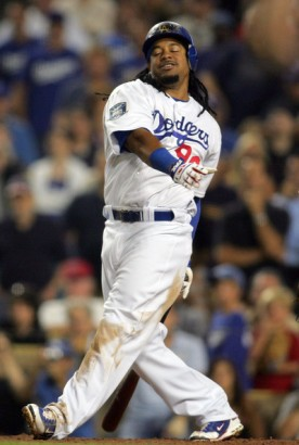 Manny Ramirez Courtesy of MLB Dodgers