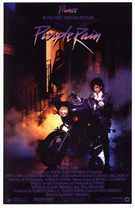 Purple Rain Original Movie Poster