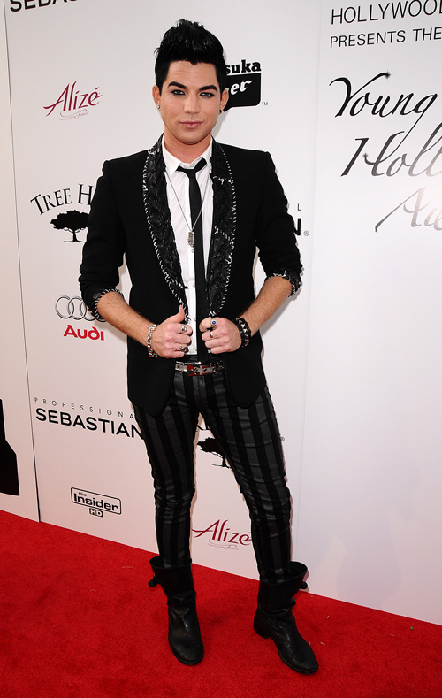 Adam Lambert At Young Hollywood Awards.  Photo: Jason LaVeris/FilmMagic