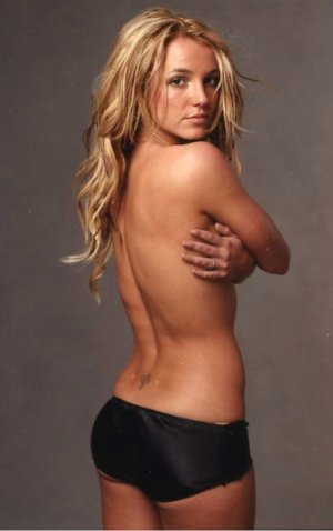 pictures of britney spears nude