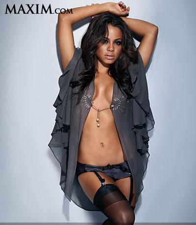 Christina Milian1 Maxim Magazine