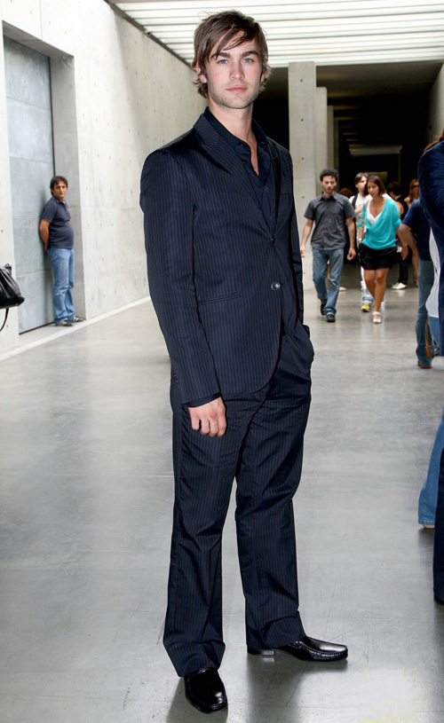Chace Crawford In Milan.  Photo: Gettyimages.com
