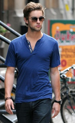 Chace Crawford In New York.  Photo: PacificCoastNewsOnline.com