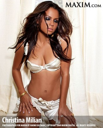 Christina Milian Maxim Magazine/NAOMI KALTMAN