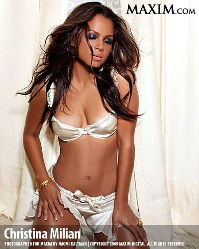 Christina Milian Maxim Magazine
