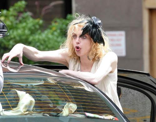 Courtney Love In New York.  Photo: INFDaily.com