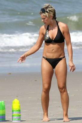 Kate Gosselin Black Bikini 2 Splash News Photo