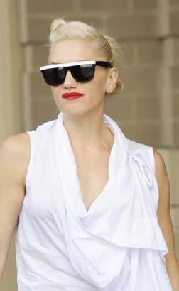 Gwen Stefani Enjoys a Day In D.C. Photo: Splashnewsonline.com