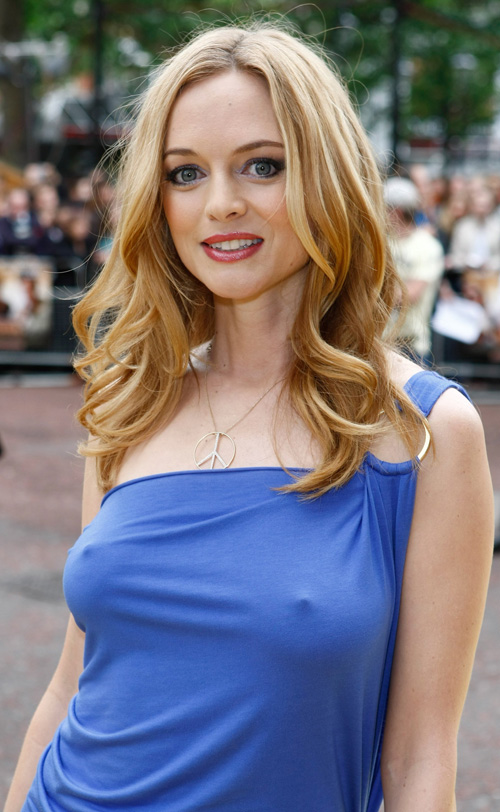 Heather Graham Gives Us A Hangover.  Photo: Gettyimages.com