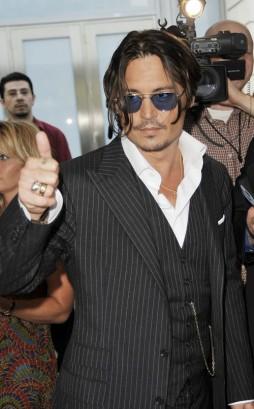 Johnny Depp At Public Enemies Premiere.  Photo: GettyImages.com