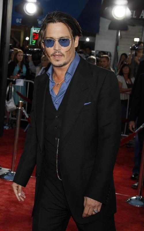 Johnny Depp Attends 'Public Enemies' L.A. Premiere. Photo: Flynetonline.com