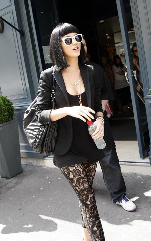 Katy Perry In Paris. Photo: SplashNewsOnline.com