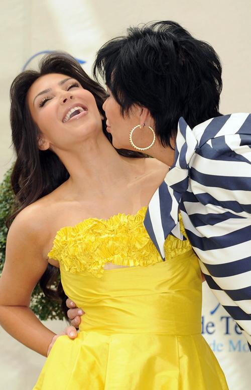 Kim Kardashian and mom Kris Pascal Le Segretain/Getty Images