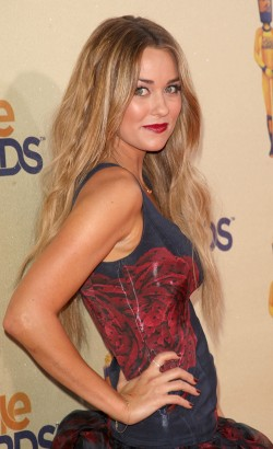 Lauren Conrad Attends The MTV Movie Awards.  Photo: Gettyimages.com
