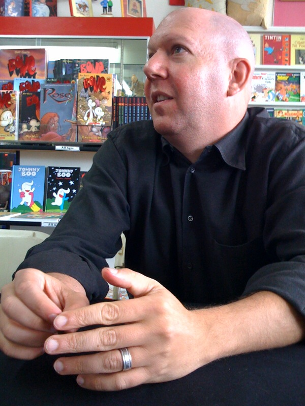 Mark Guggenheim. Photo:Comicbookresources.com