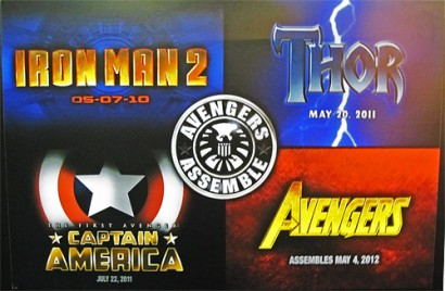 Marvel Movies Coming Soon.  Photo: Marvel.com