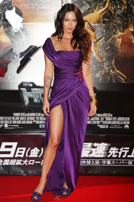 "Megan Fox Attends Japanese Premiere of ""The Tranformers 2""  Photo: Gettyimages.com"