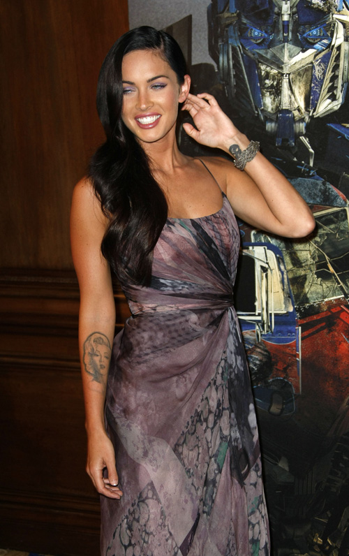Megan Fox In Paris For Transformers 2. Photo: SplashNewsOnline.com