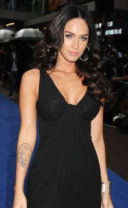 Megan Fox Attends UK Premiere Of Transformers 2.  Photo: Gettyimages.com