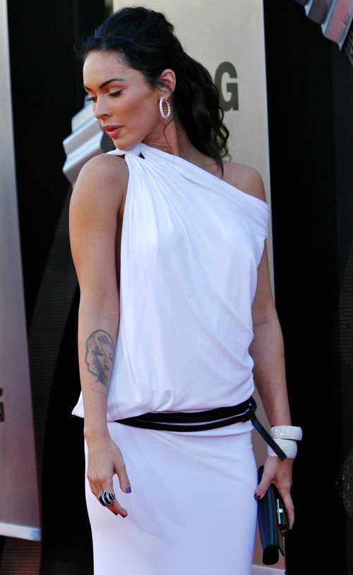 Megan Fox At The Transformers L.A. Premiere.  Photo: SplashNewsOnline.com