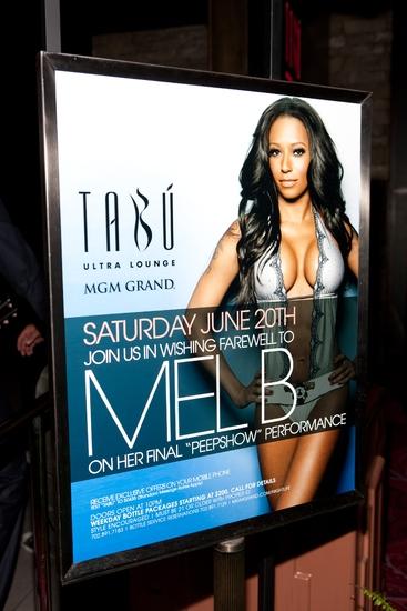 Tabu Vegas Farewell Mel B. Getty